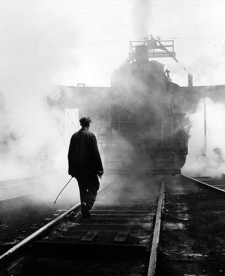 Hostler, Canadian National Railways, Hamilton, Ontario, 1959