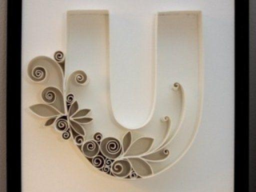 Cómo hacer letras decorativas.