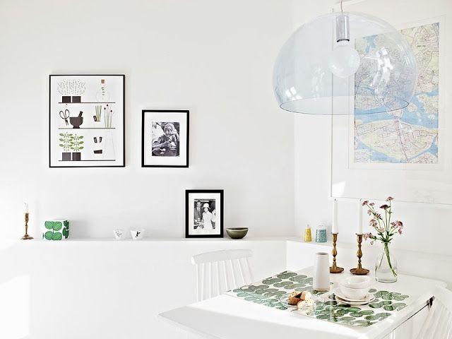 A white Gothenburg apartment tour - my scandinavian home