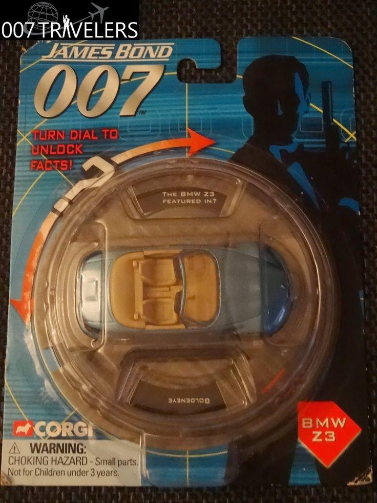 007 TRAVELERS: 007 Item: James Bond 007 Corgi BMW Z3