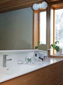 scandinavian retreat.: Mora Armatur: Upstairs bathroom