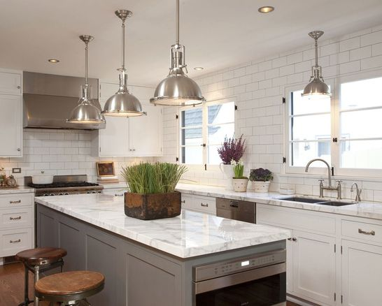239 Best Kitchen  White Images On Pinterest  Cucina Cuisine And Delectable Kitchens With Grey Cabinets Decorating Design