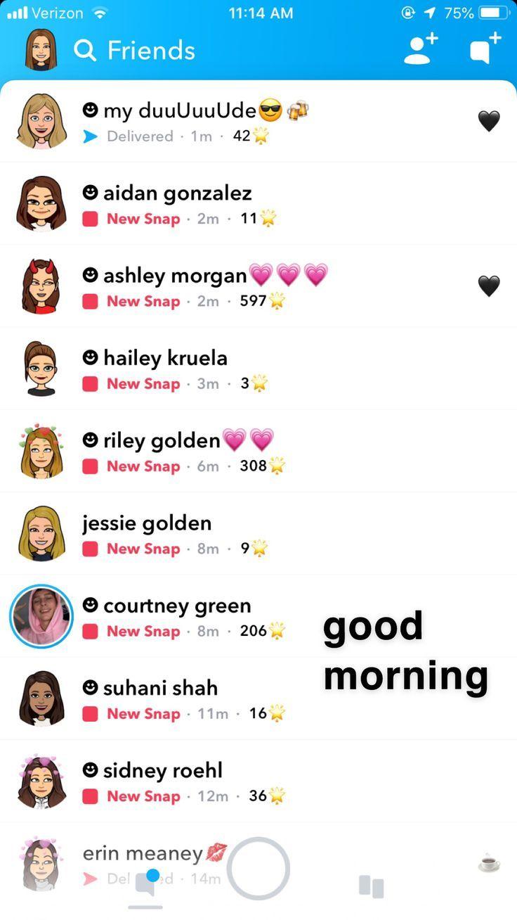 Popular Snapchat Names 50 Best Celebrity Snapchats 2018 2020 03 18