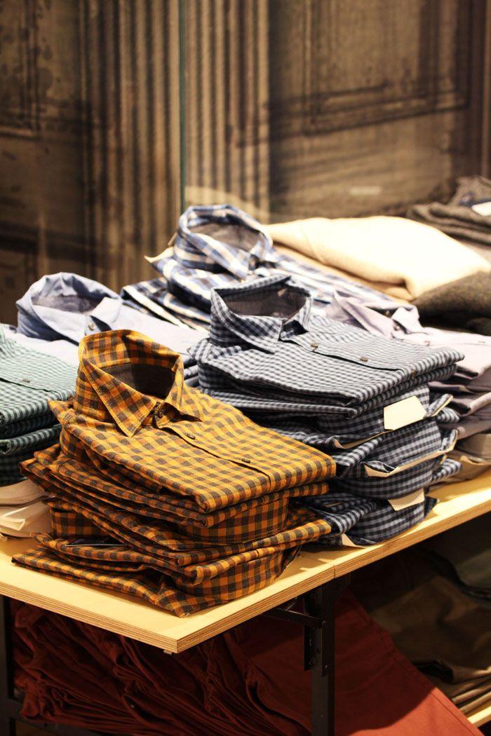 가을 키워드는 '체크'. 셔츠만으로도 돋보이고 싶다면 '체크 셔츠'를 꼭 챙기세요! @ 엘롯데 지오지아 AND Z