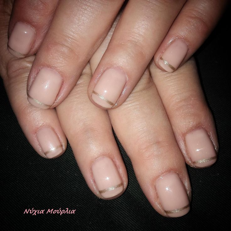 nude nails ~french nails