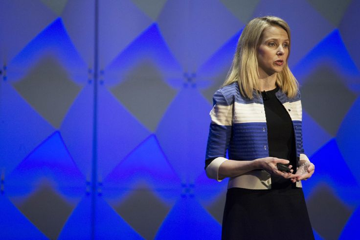 nice Marissa Mayer To Exit Yahoo Board Along With Co-Founder David Filo