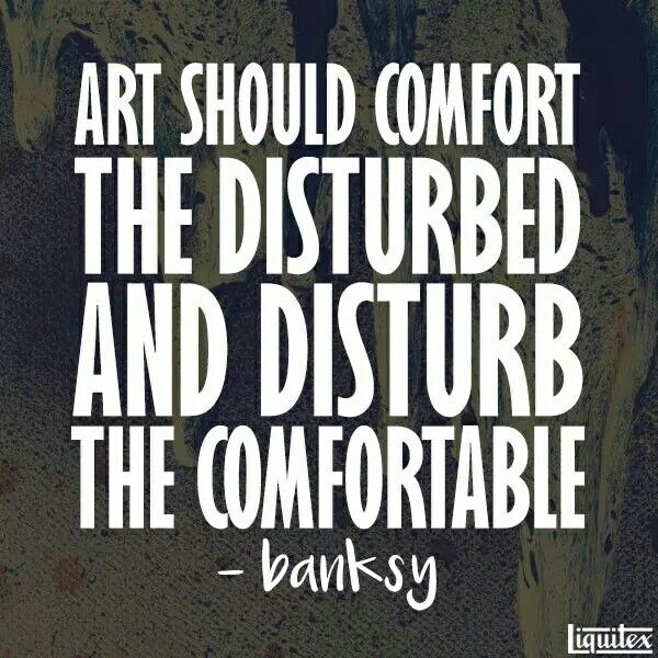 #Banksy #Quote