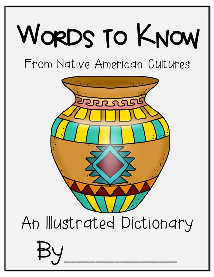 Native American Unit full of information and focuses on 5 regions of the United States.  Many activities to do also including illustrating a dictionary of Native American words.  Word cards and their definitions included.