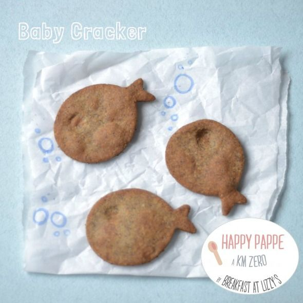 ricette svezzamento: baby crackers [weaning recipe: baby crackers]