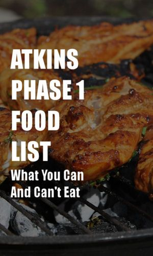 If you're new to the Atkins diet, or you've been thinking about trying, here's what you need to know about the food list in phase 1.