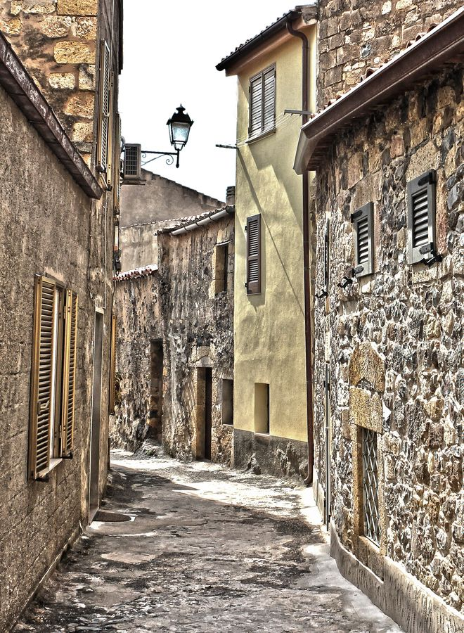 Cuglieri, an old and enchanting small town near Oristano