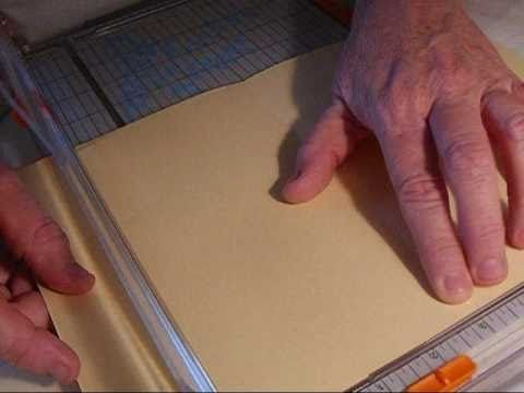 Manila Folder Tutorial..may tweek a little but good instruction for start.