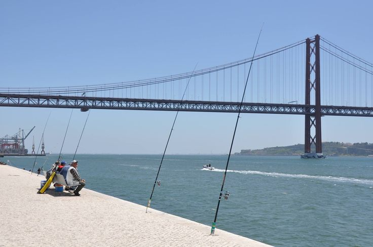 Fishing in Lisbon