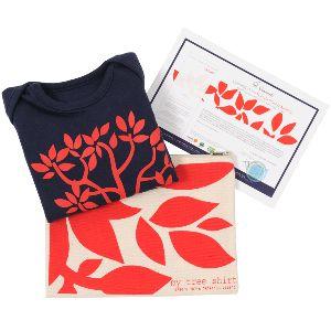 My tree-shirt, un coffret cadeau bio éthique : le body qui plante un arbre !