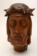 Der leidende Jesus Christus mit Dornenkrone
