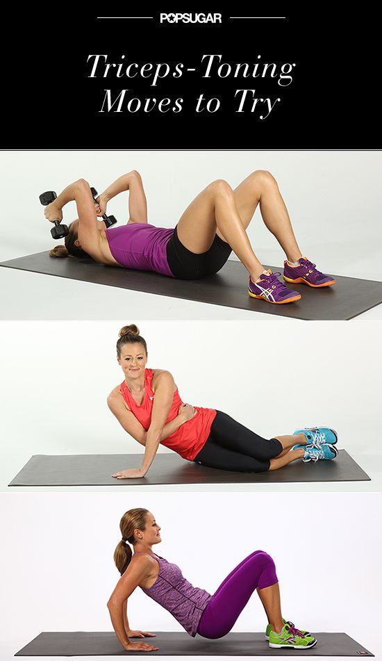5 Moves to Target Triceps For Tank-Top Season