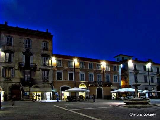 Ora blu a Piazza Arringo