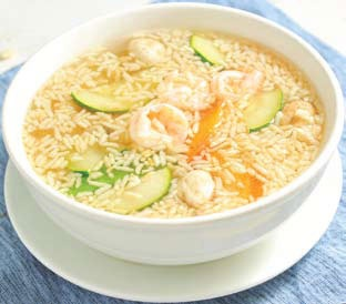 Sizzling Rice Soup. I could eat this 3 nights a week, at least!