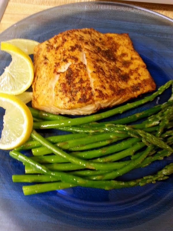 """Cajun Salmon - """"Ty guys! So glad you all liked the recipe! This is one of my favs too! Yum! :hungry"""" @allthecooks #recipe"""