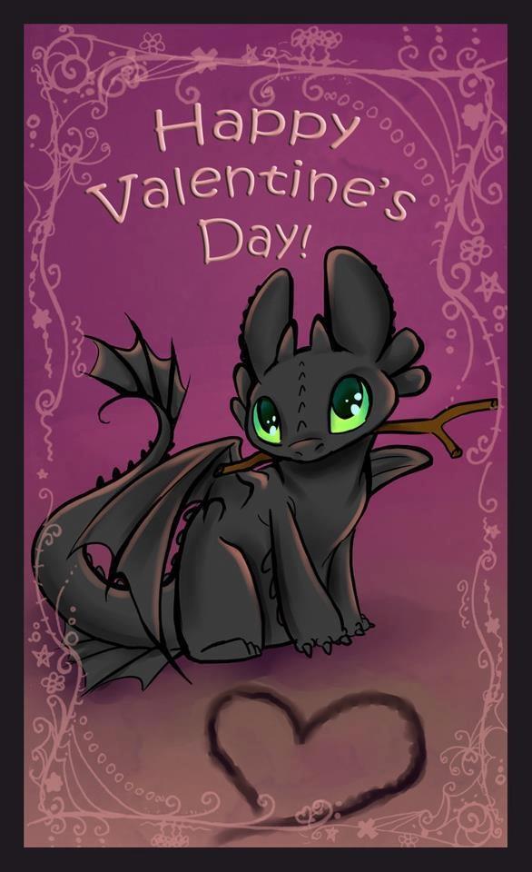 Schön Valentines Day Dragon Toothless Valentine By Sharkie19