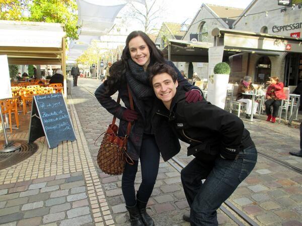 Tessa and Scott in Paris <3