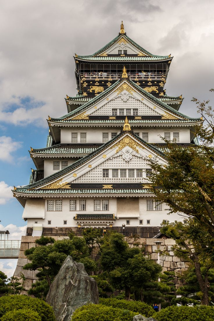 Osaka Castle - Osaka - Japan (by Gilad Rom)