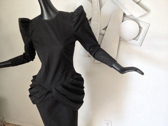 1940s inspired 1980s dress... (Repinned)