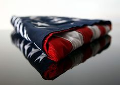 Meaning of the folded American Flag