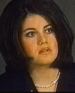 Monica lewinsky young pics that interfere