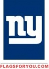 "NY Giants Mini Flag 15"" x 10 1/2"" - 9 left"