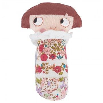 Trousselier Floral Mini Rattle