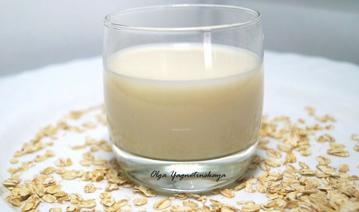 Диетическое веганское овсяное молоко - полезные заготовки / разное полезное - Полезные рецепты - Правильное питание или как правильно похудеть
