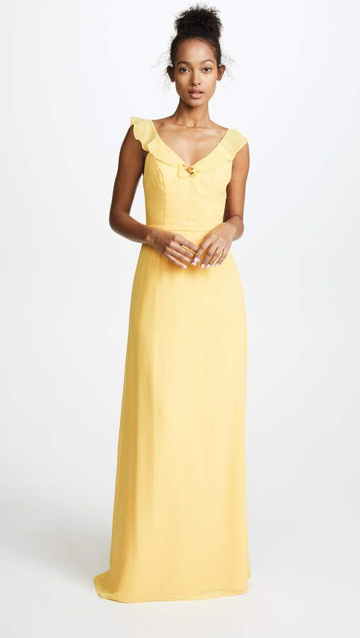 Monique Lhuillier Bridesmaids Keira Gown #shopbop #ad