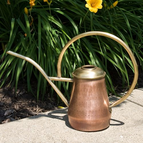 Antique Copper watering Can: Antiques Hammered, Antique Copper, Copper Water, Antiques Copper, Watering Cans, Outdoor Accessories, Hammered Copper, Water Cans, Antiques Water