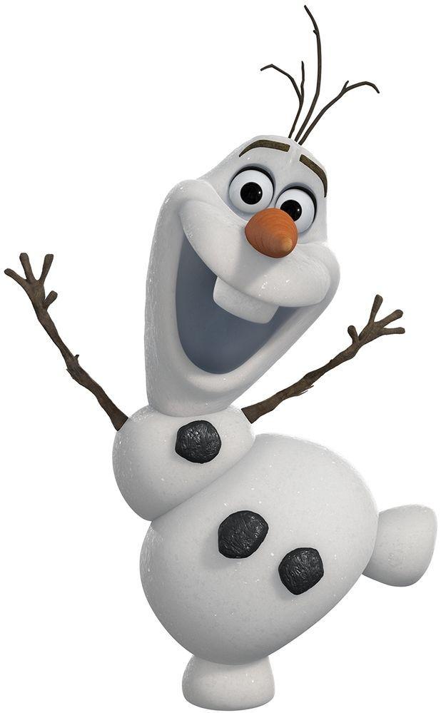 Disney Frozen Olaf Iron on Transfer #4