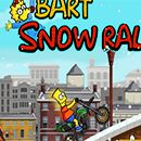 Bart Simpson Snow Rally