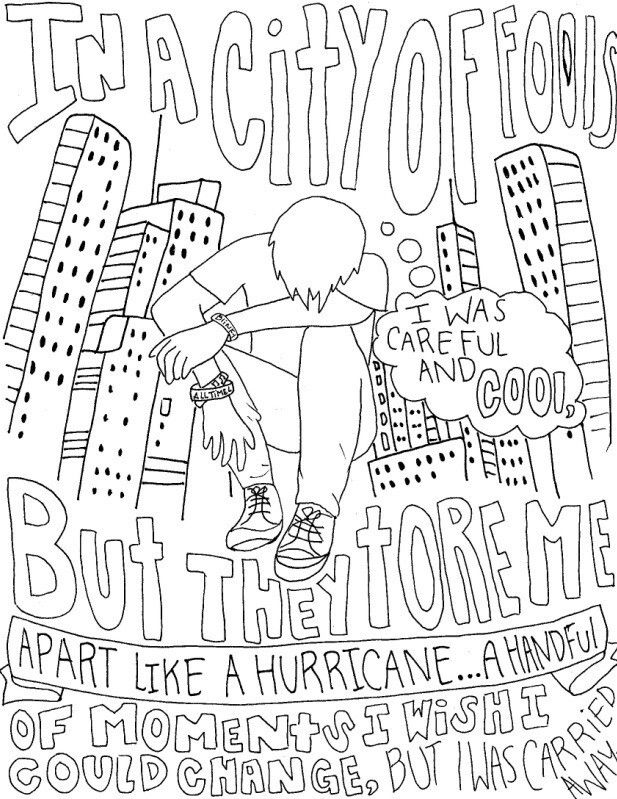 lyrics coloring pages - photo#20