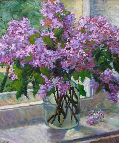 images of impressionism flower paintings on canvas handpainted wallpaper