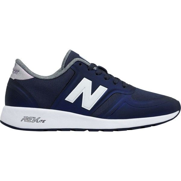 New Balance 420 Re-Engineered Shoe ($85) ❤ liked on Polyvore featuring shoes, new balance footwear, lightweight shoes, pull on shoes, new balance and new balance shoes