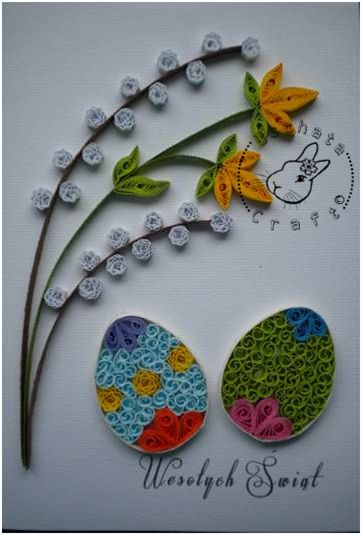 Quilling - card 60 by Eti-chan.deviantart.com on @deviantART