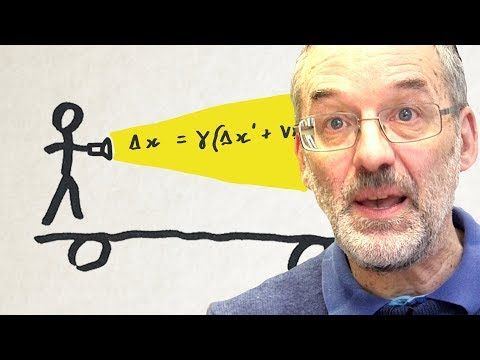 Why you can't go faster than light (with equations)  - Sixty Symbols - YouTube
