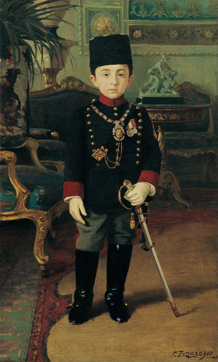 Fausto Zonaro,  Prince Abdurrahim
