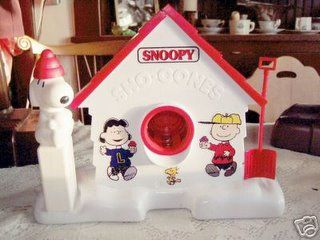 {12} - Best 80's Toy - Snoopy Snow Cone Machine.  Worked awful, but amazing concept. - #KickinItAppleCheeks