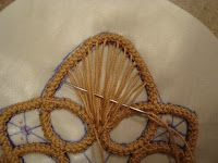 Thread Head: Romanian Point Lace Tutorial