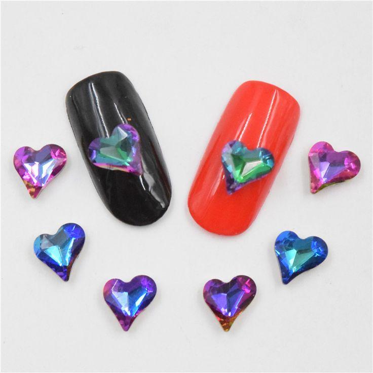 10psc New Pomegranate flame rhinestones 3D Nail Art Decorations,Alloy Nail Charms,Nails Rhinestones Nail Supplies CZ048-051 #Affiliate