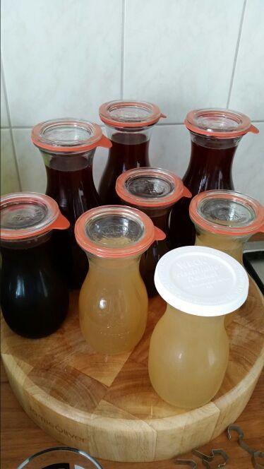 Kersen appelsap en appelsap maken in de sappan