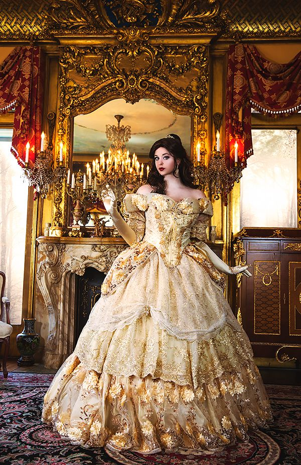 Medieval Wedding Gowns, Marie Antoinette Gowns, Gothic Wedding Gowns at RomanticThreads