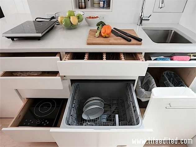Transformierbare Mini Wohnung In New York City | KlonBlog