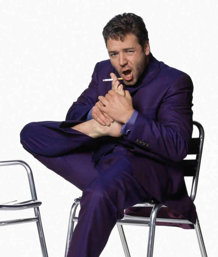 Russell Crowe Smoking Pinterest Smoke Free Purple