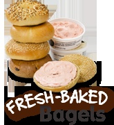 Noah's Bagels ! I LOVE their spreads...I MUST also try their hot chocolate next time!